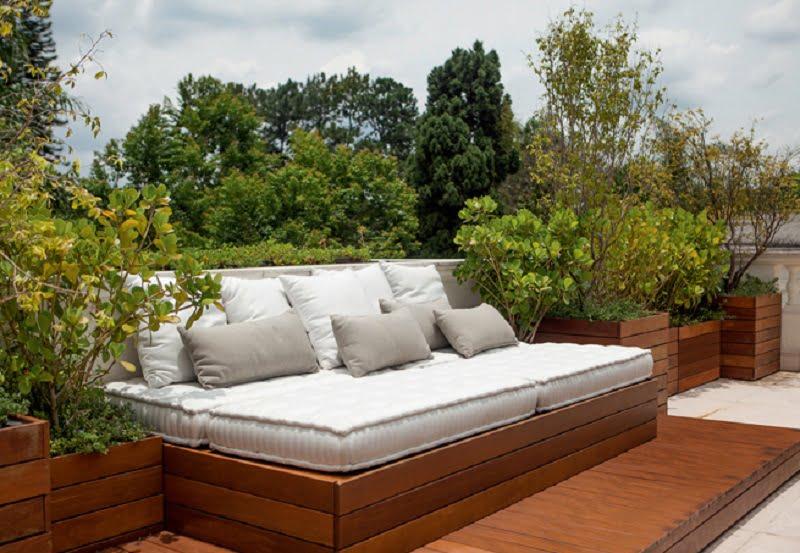 Móveis para jardim: os sofás