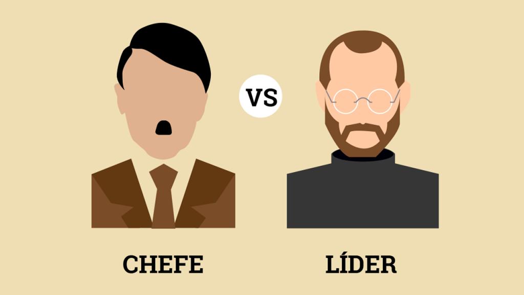 Líder ou chefe: Qual as diferenças entre estes dois perfis.
