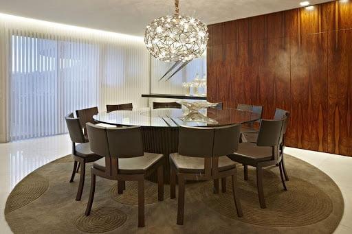 Mesas para área de lazer: redonda
