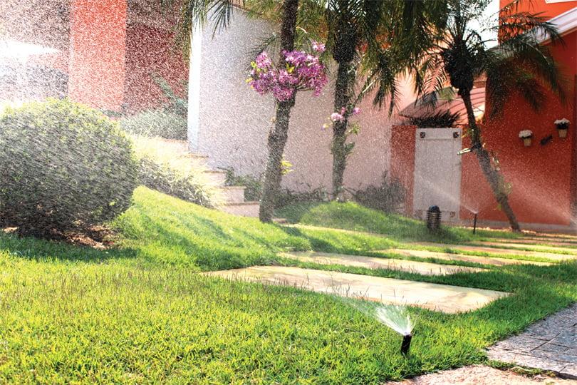 Automação residencial: irrigação