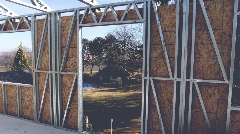 Quando chegou o sistema Steel frame no Brasil?