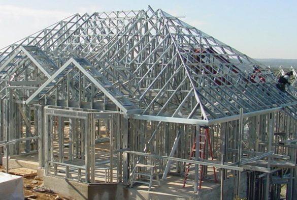 Tipos de telhados para casa de steel frame