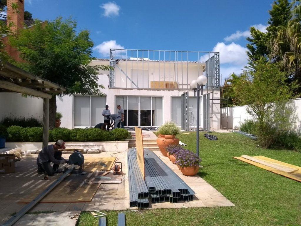 reforma para casas em Steel Frame