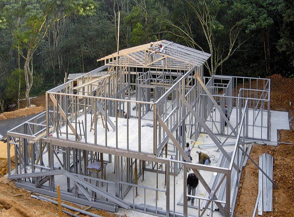 Como a construção branca é feita?