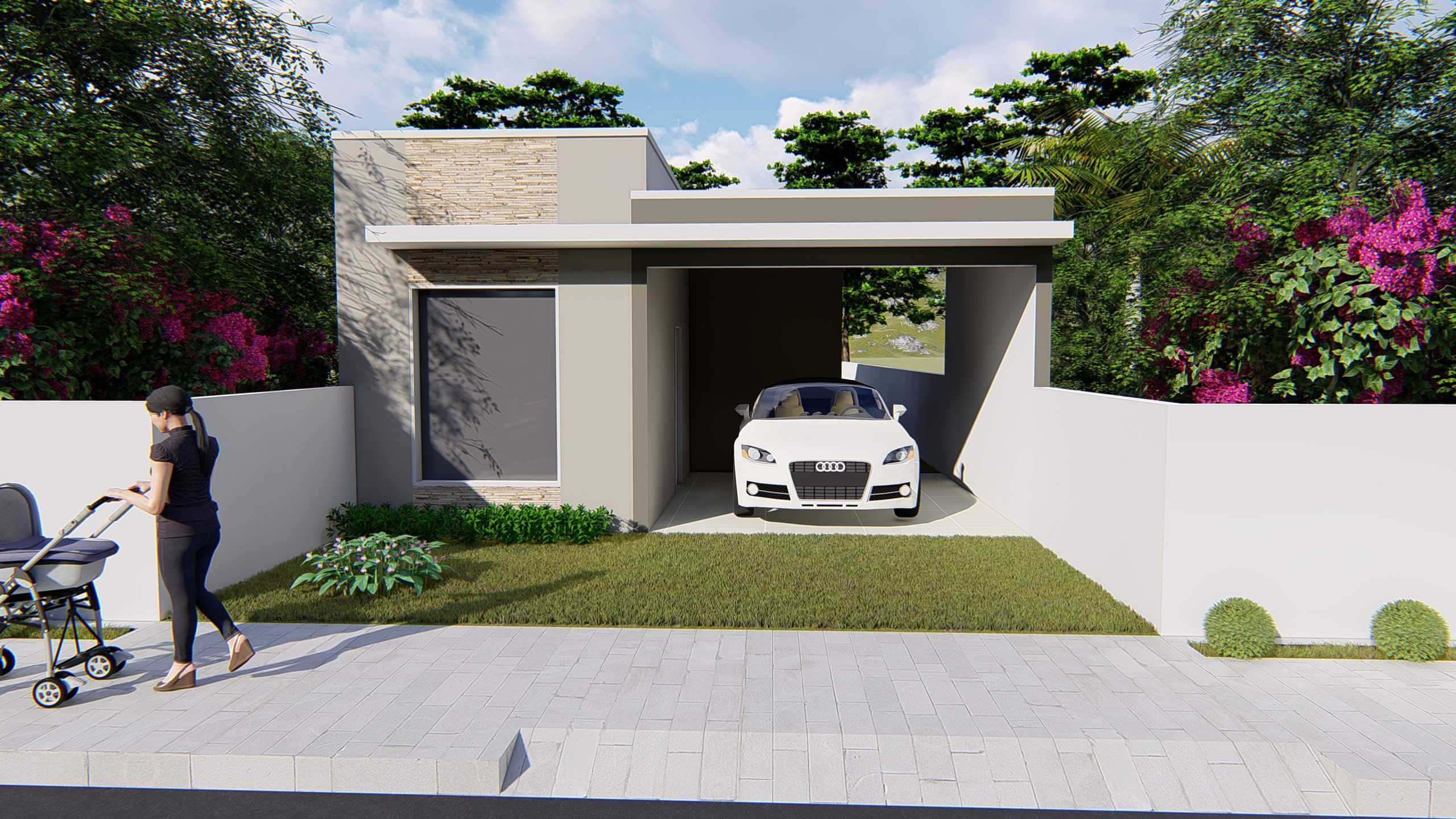 Modelos e dicas de plantas de casas com terreno 10 por 20