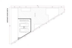 planta com 3 quartos projeto EA-149
